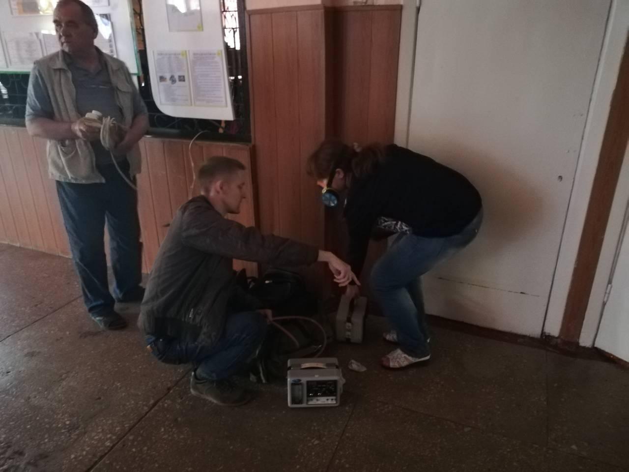 В Павлограде в школе распылили неизвестное вещество