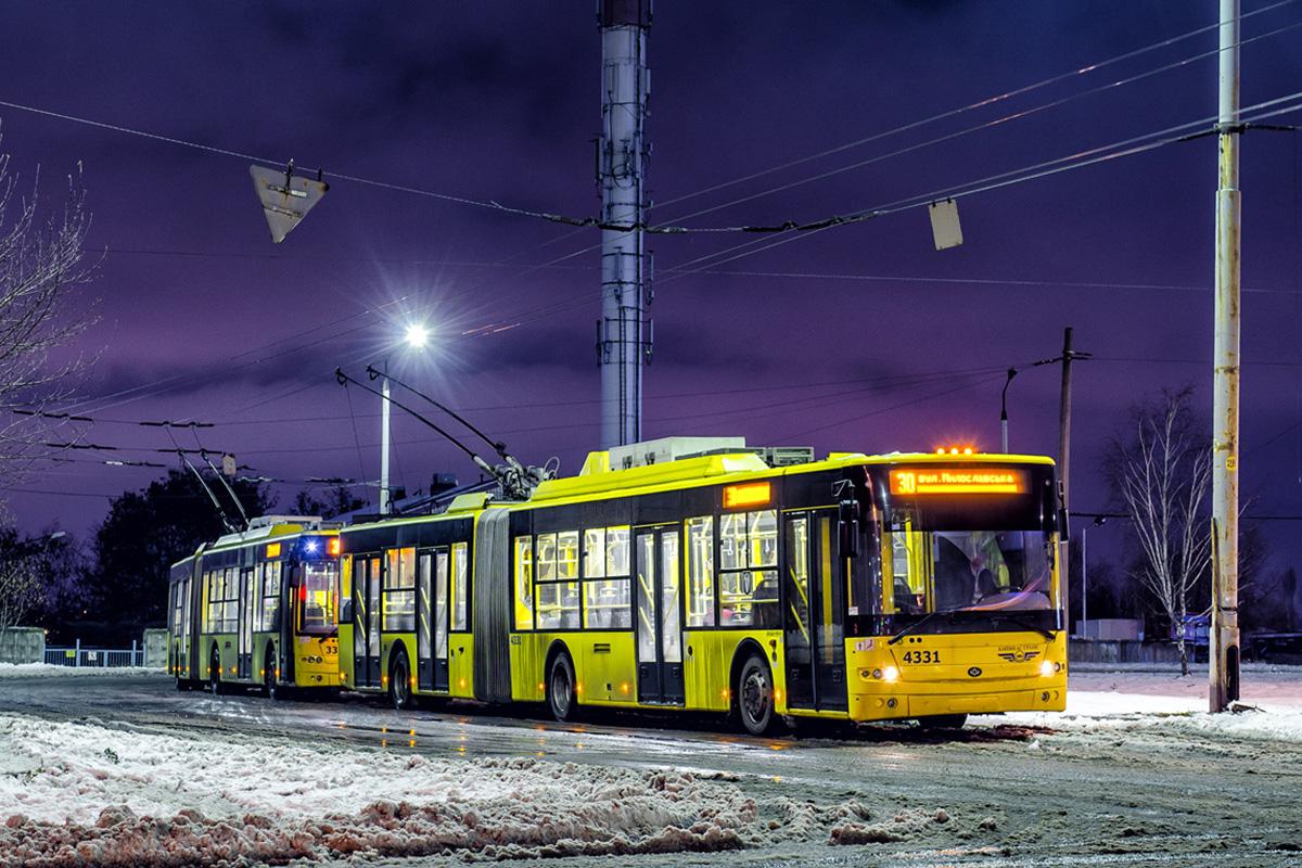 Троллейбусы сверхбольшого класса «Богдан» Т901 ездят только в Киеве и Кременчуге