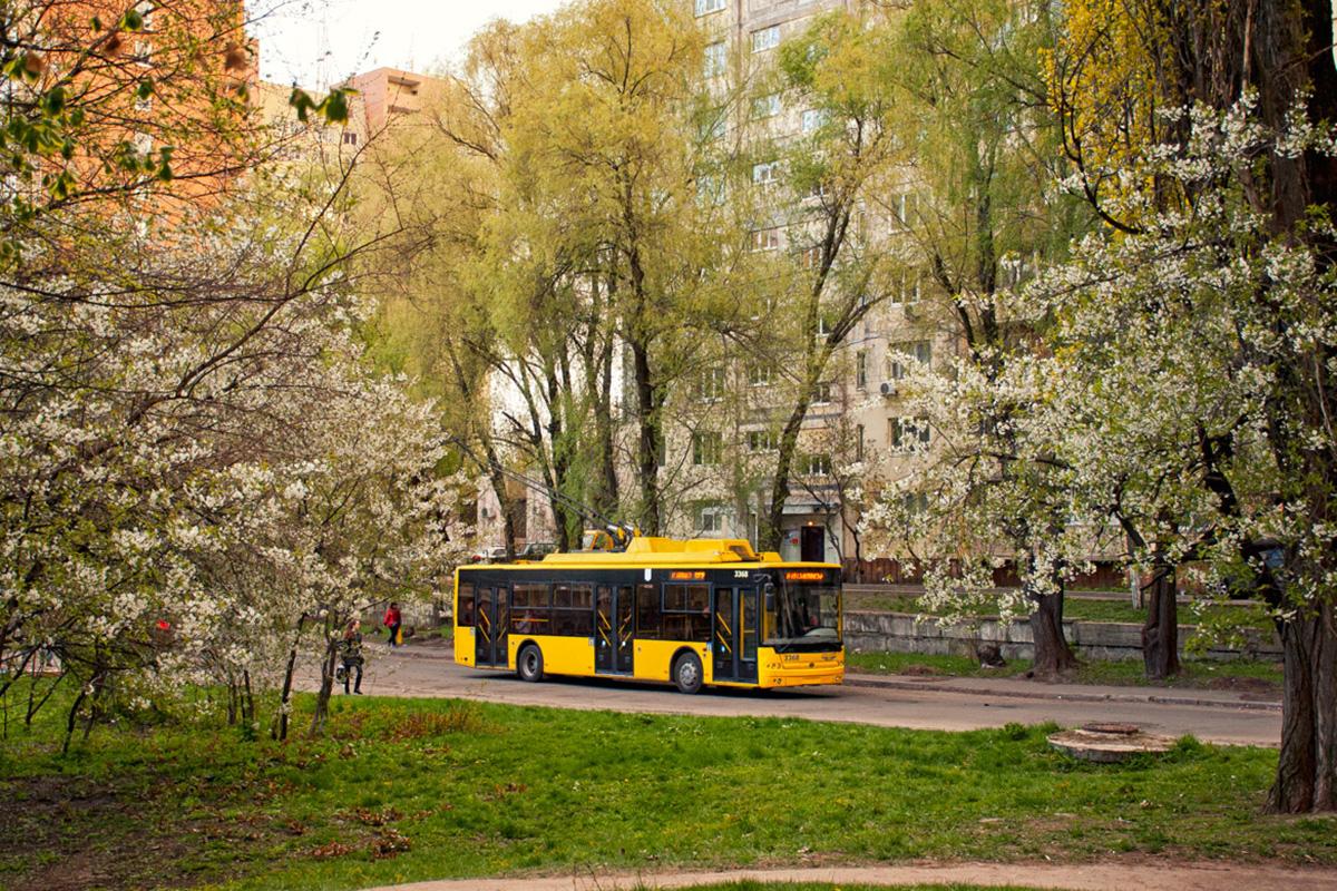 Всего в Киеве имеется 206 троллейбусов марки «Богдан»