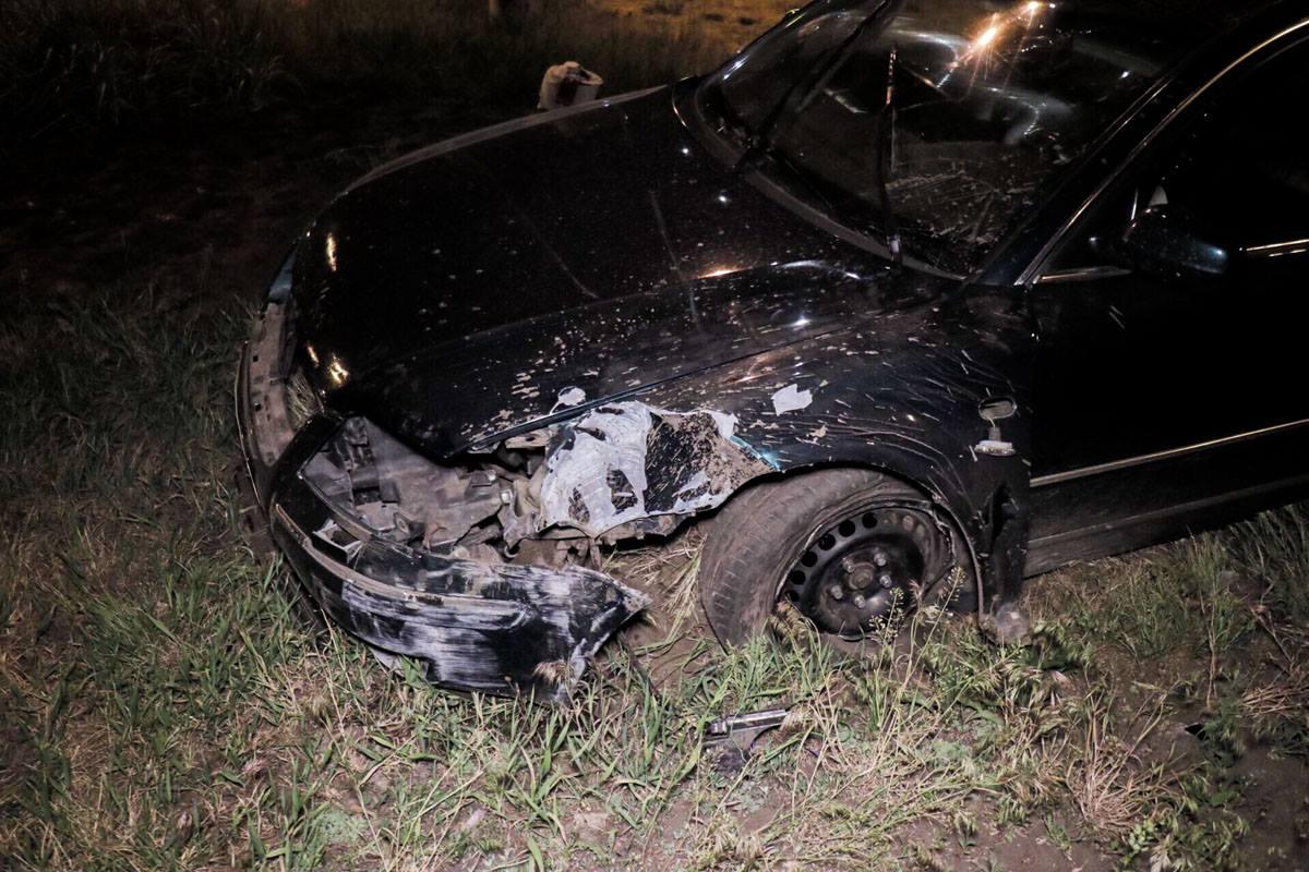 Автомобиль существенно пострадал