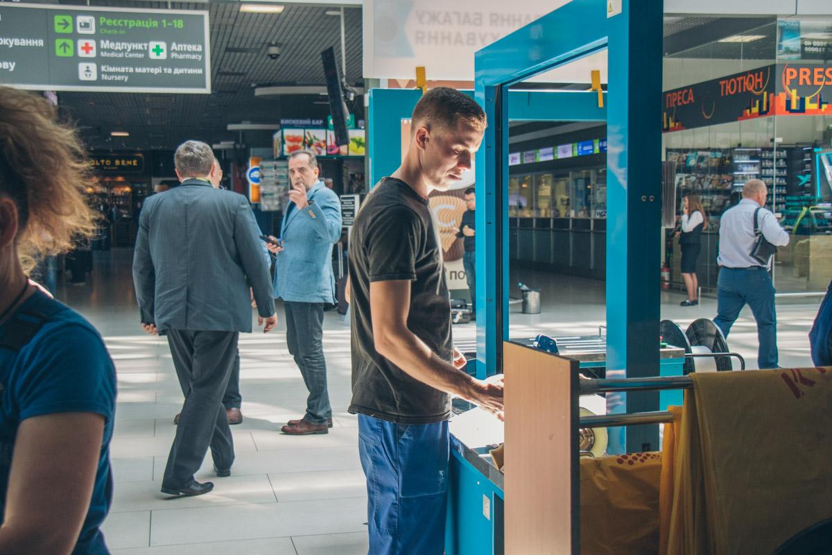 После реконструкции терминала А появится больше стоек для регистрации