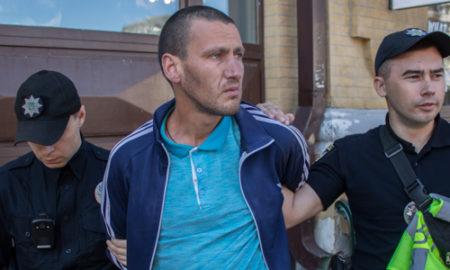 В центре Киева задержали пьяного зека, подозреваемого в убийстве