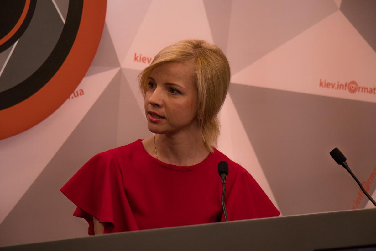 Организатор первого Киевского бала Марина Игнатуша