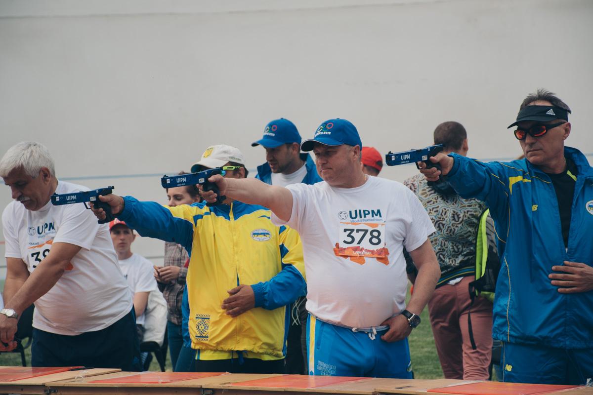 Киевские соревнования разделили на две части