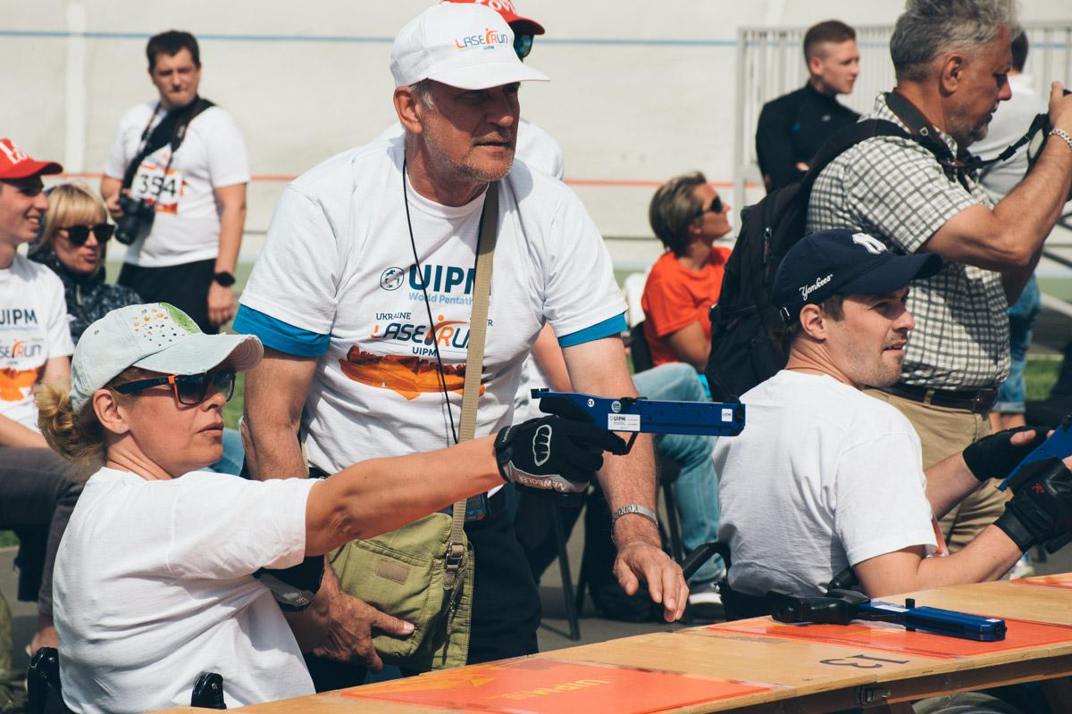 Украина уже второй год подряд организовывает соревнования Laser-Run City Tour