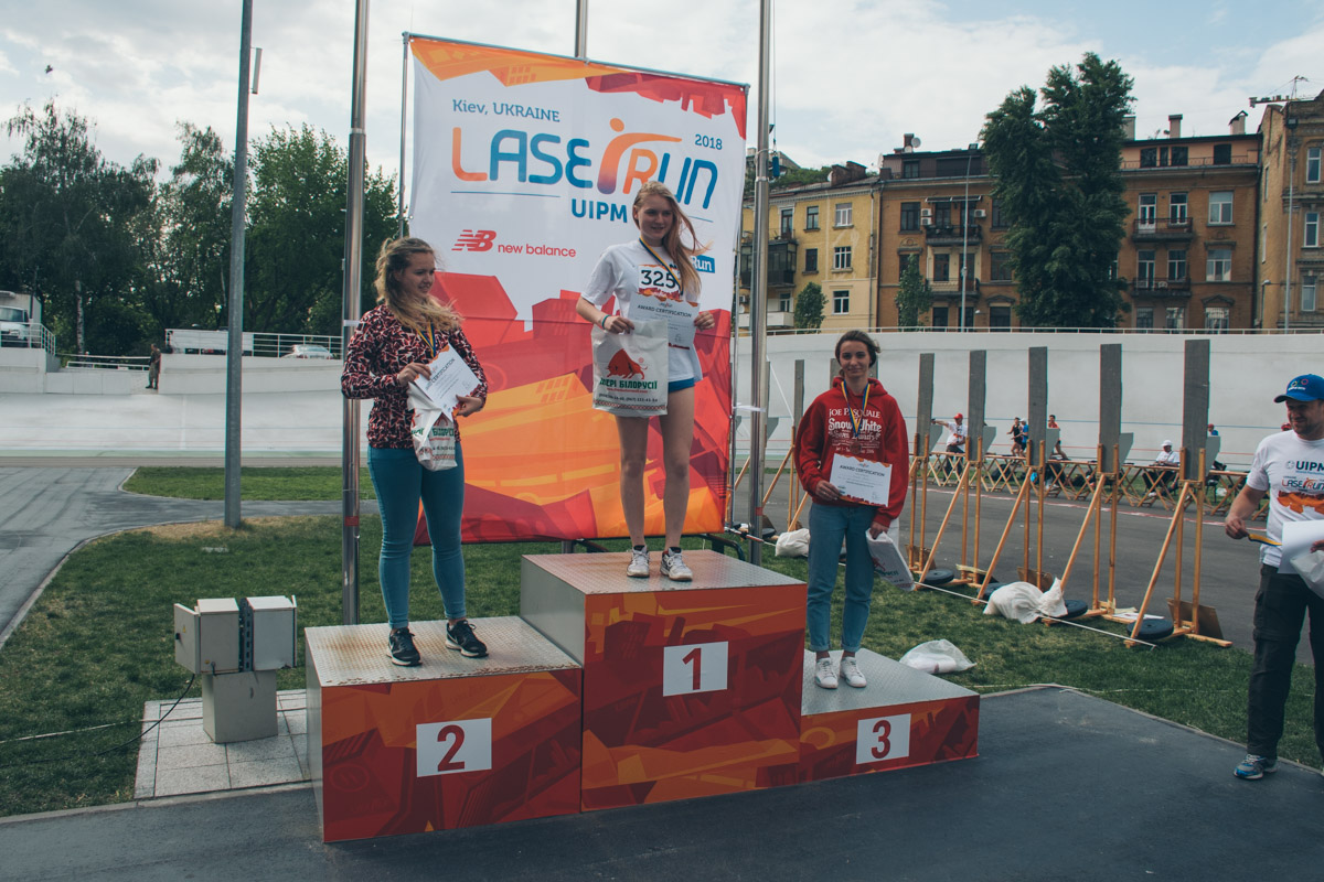 На столичном велотреке состоялось соревнование по пятиборью Laser-Run City Tour