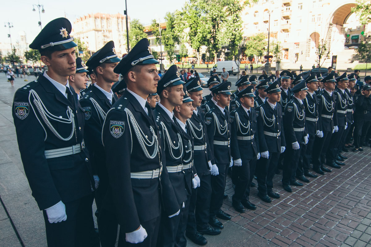 Курсанты Национальной академии внутренних сил