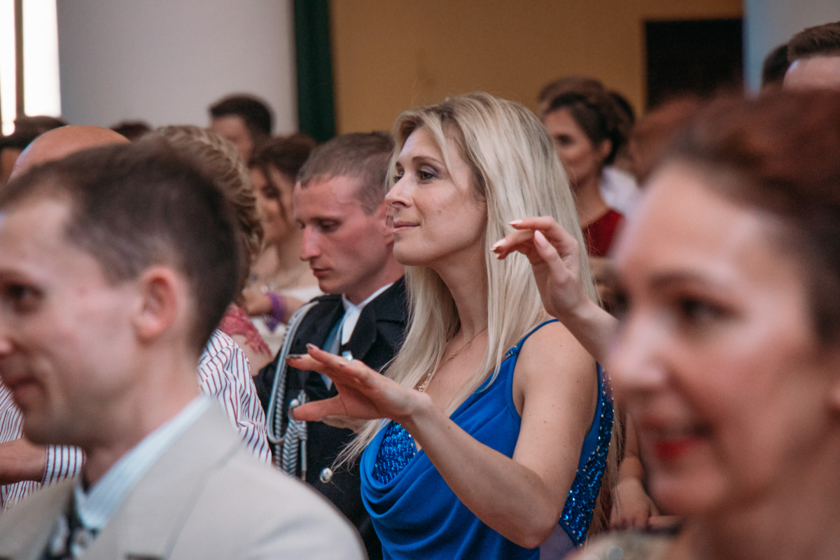 Для гостей проводили мастер-классы по бальным танцам