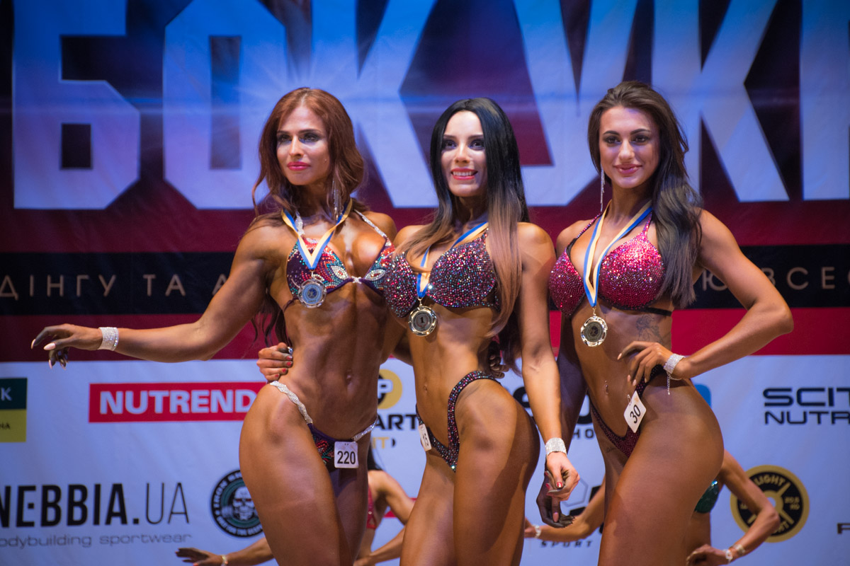 Победительницы бикини украина