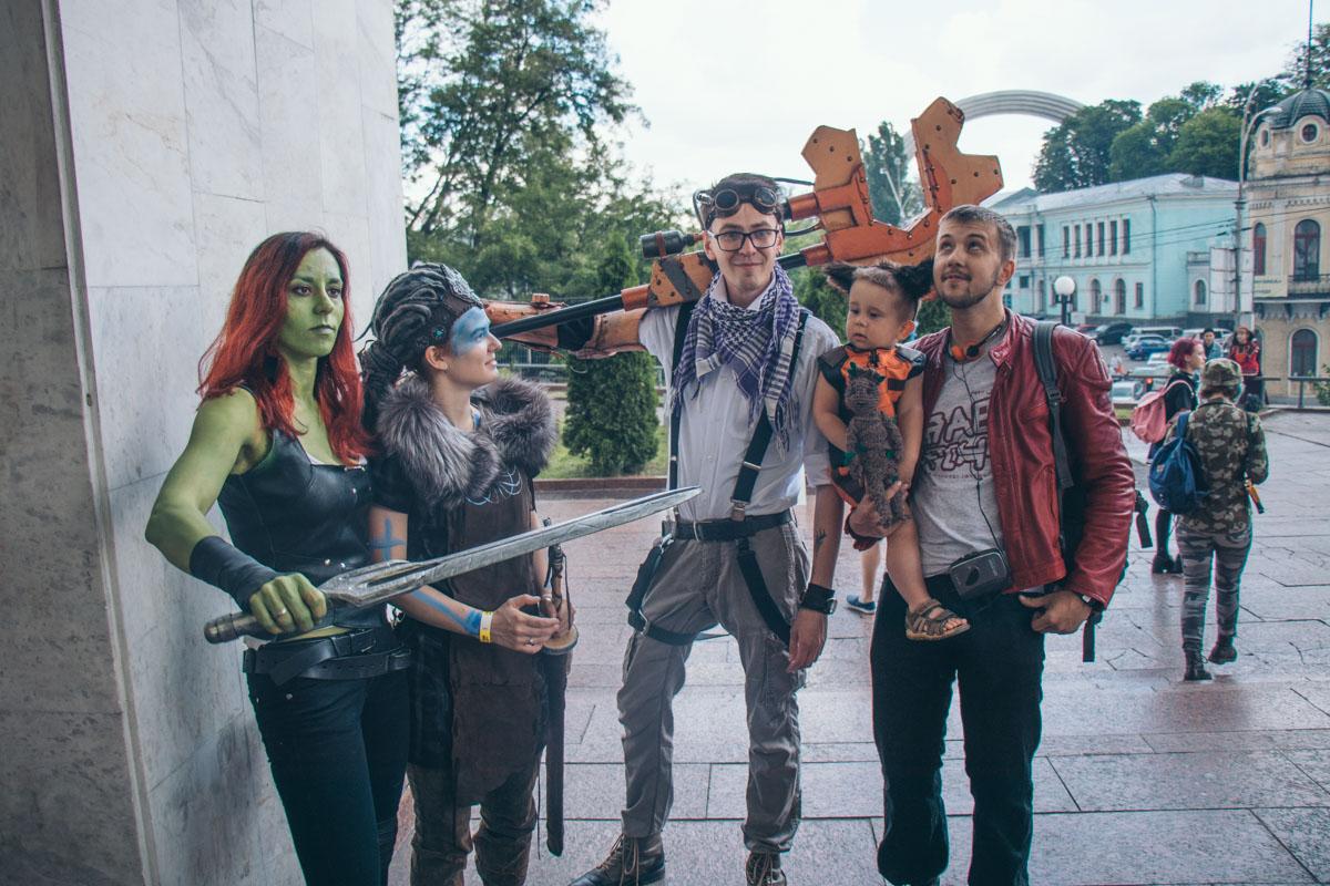 На Kyiv Comic Con смешивались сразу несколько вселенных