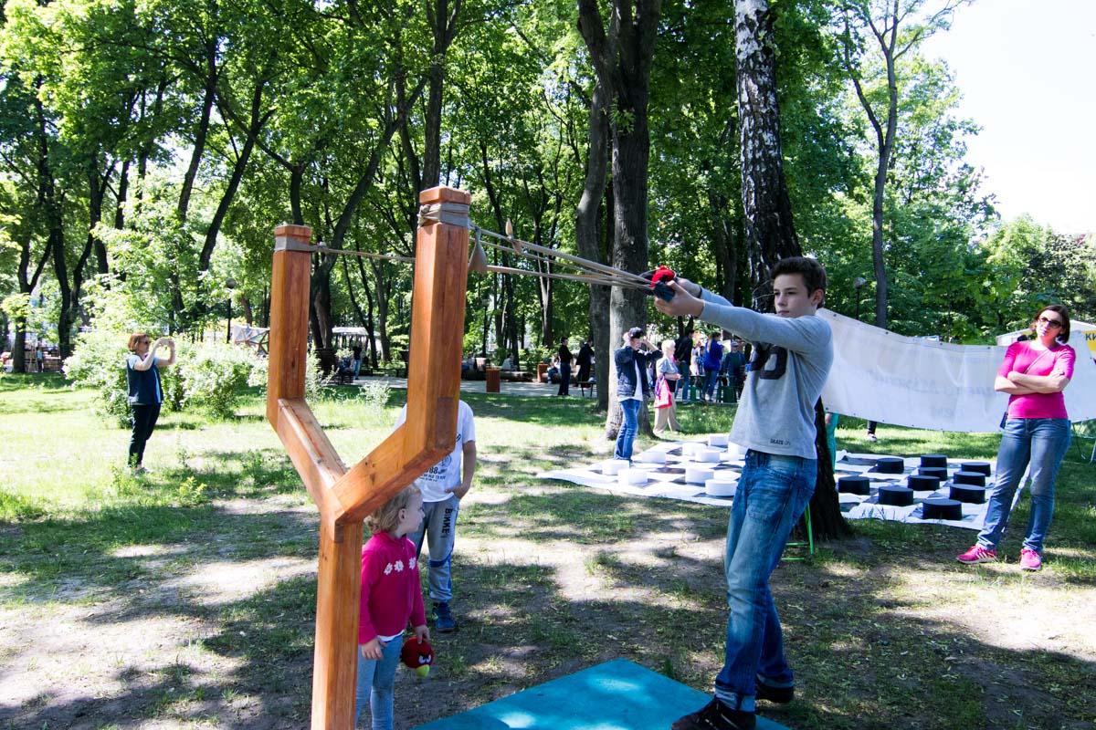 Парк Шевченко превратился в территорию семейного отдыха и искусства