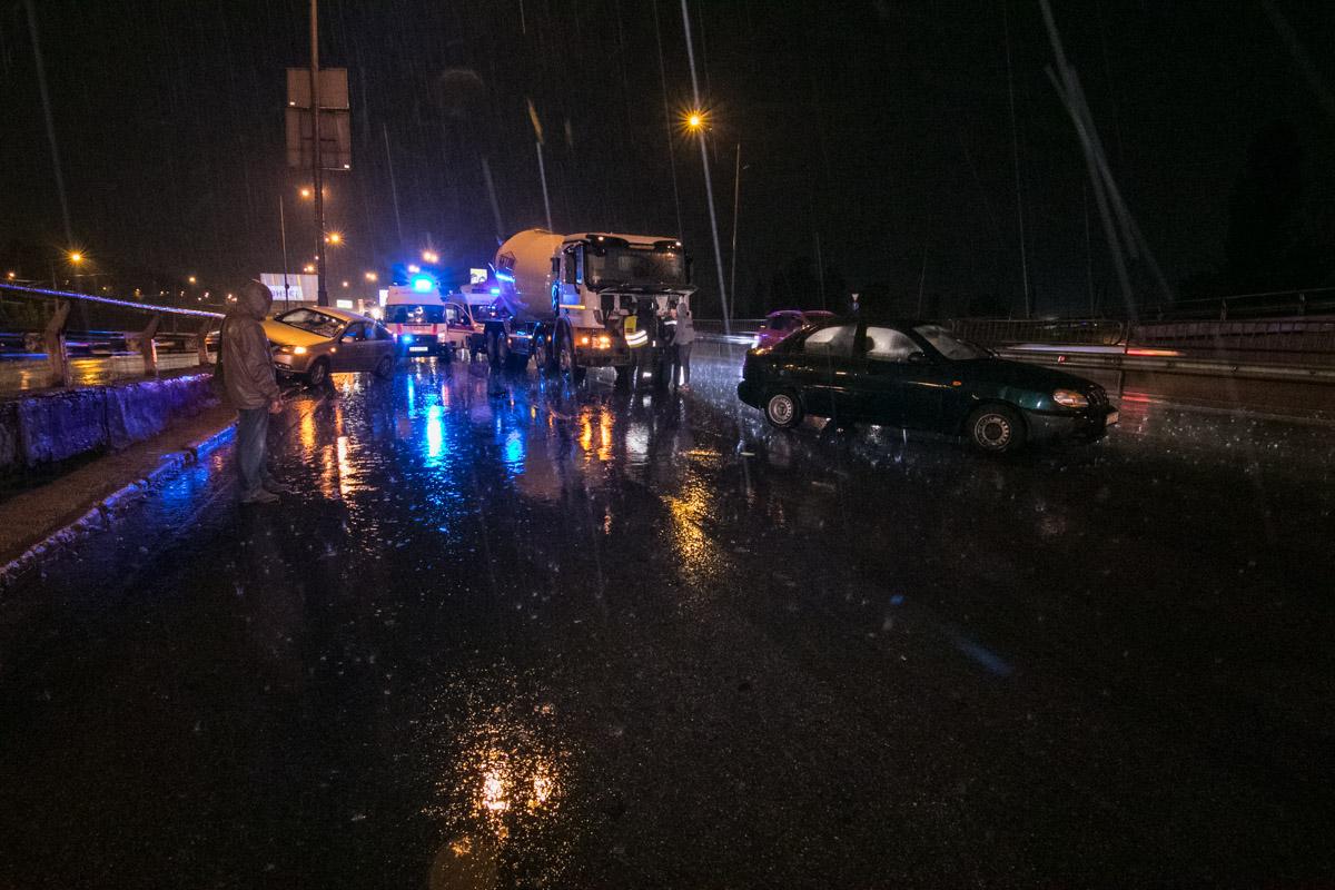 ДТП произошло на Столичном шоссе