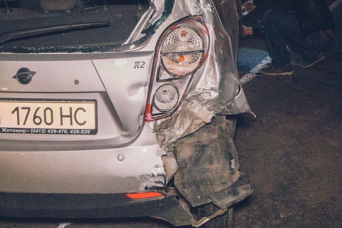 Пассажира Opel госпитализировали