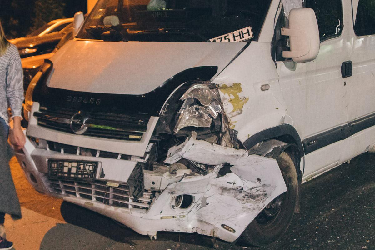 Водитель Opel был изрядно пьян и неуверенно держался на ногах