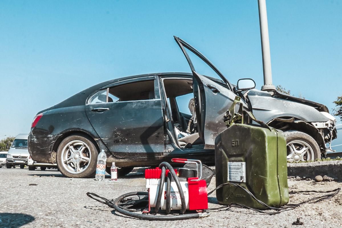 Правоохранители ожидают родственников, которые заберут машину