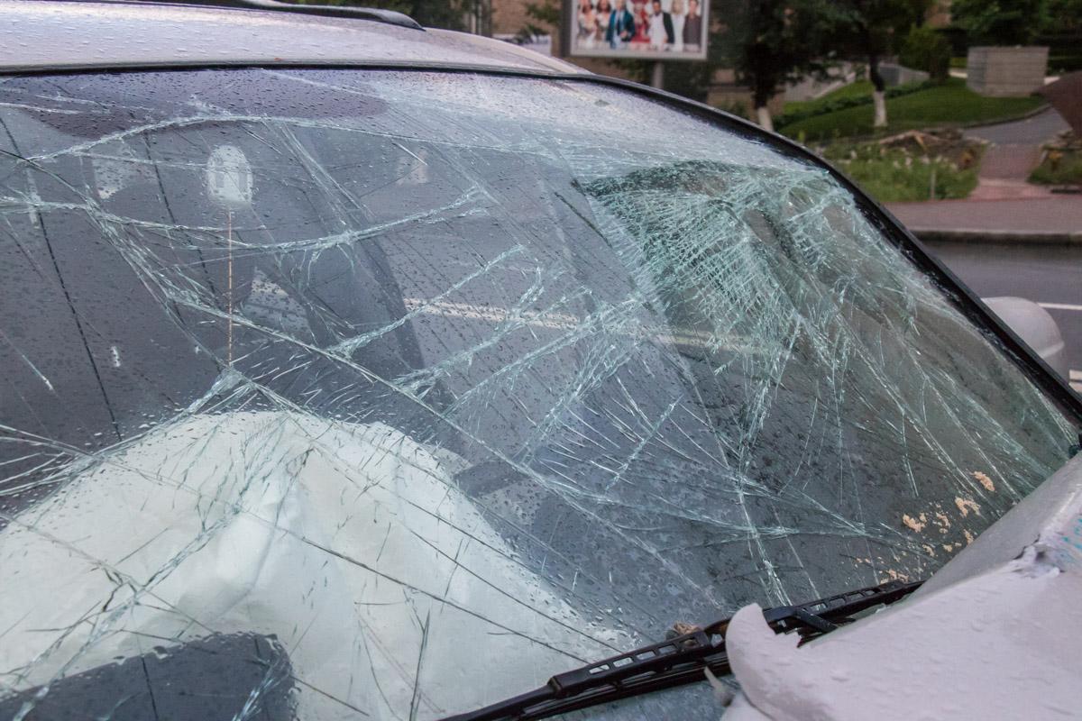 Предположительно, водитель Hyundai уснул за рулем