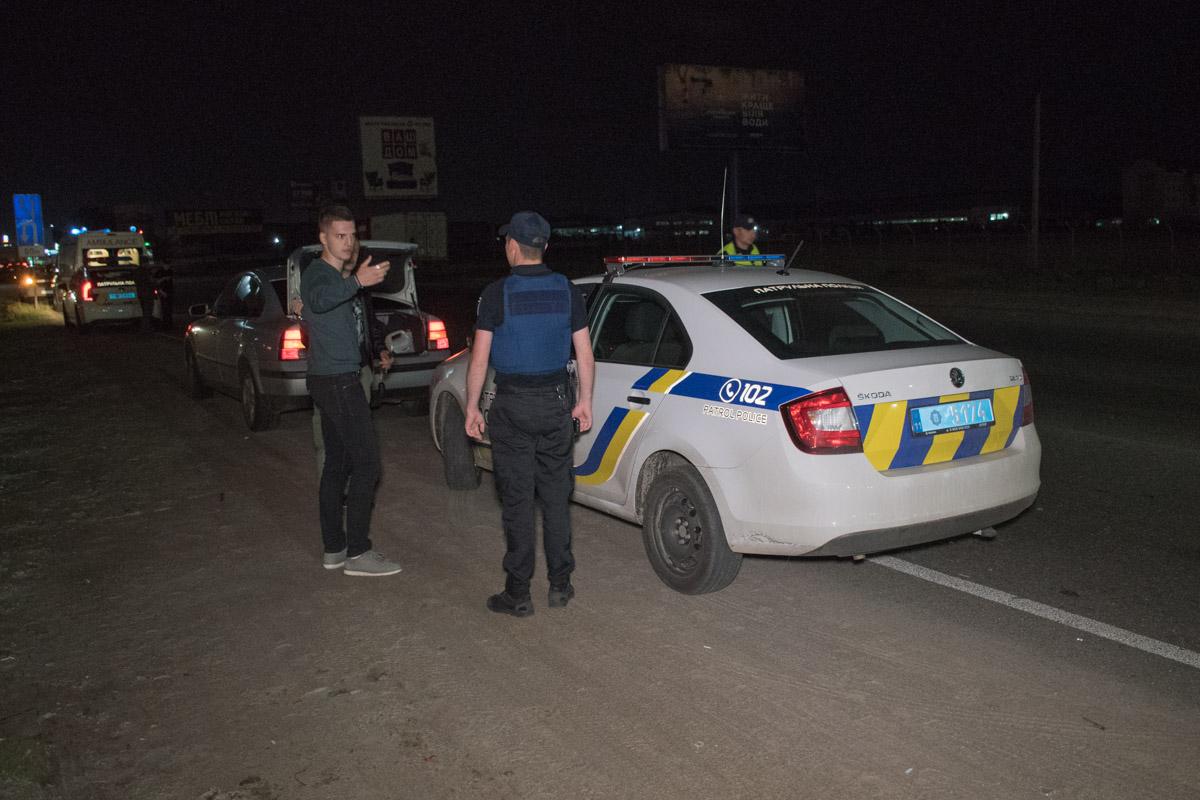 Полиция прибыла на место происшествия спустя один час после ДТП