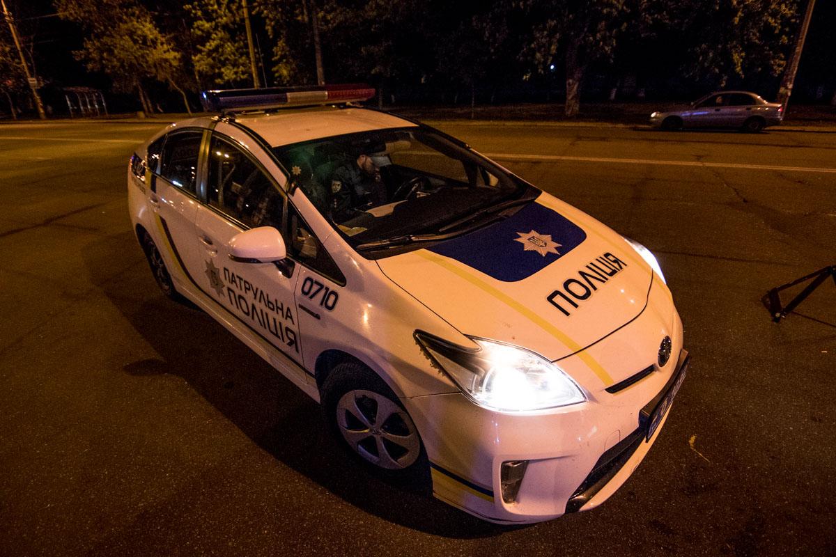 На месте работала полиция, движение транспорта не затруднено