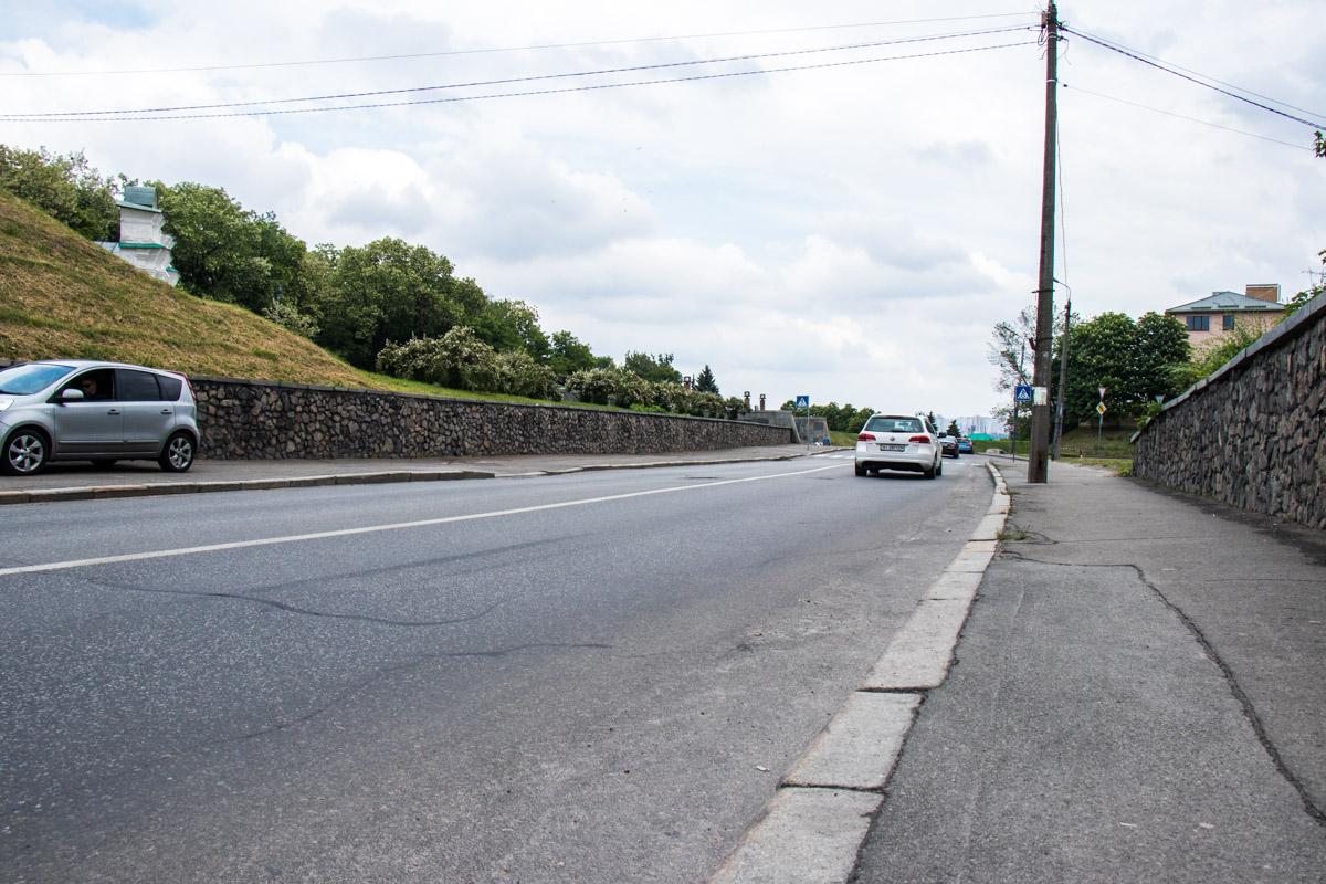 Почти за миллион гривен отремонтировали 2874 квадратных метров дорожного полотна