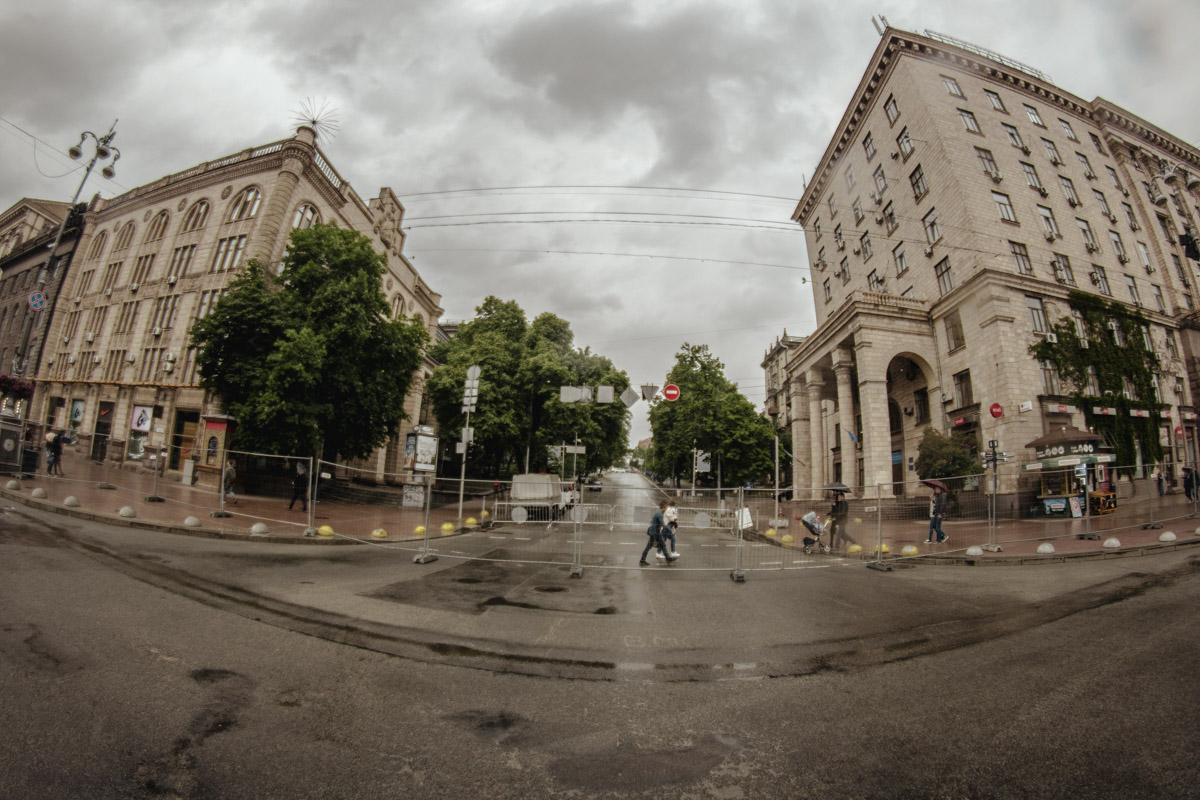 Часть улицы будет перекрыта до конца месяца - до 29-30 мая