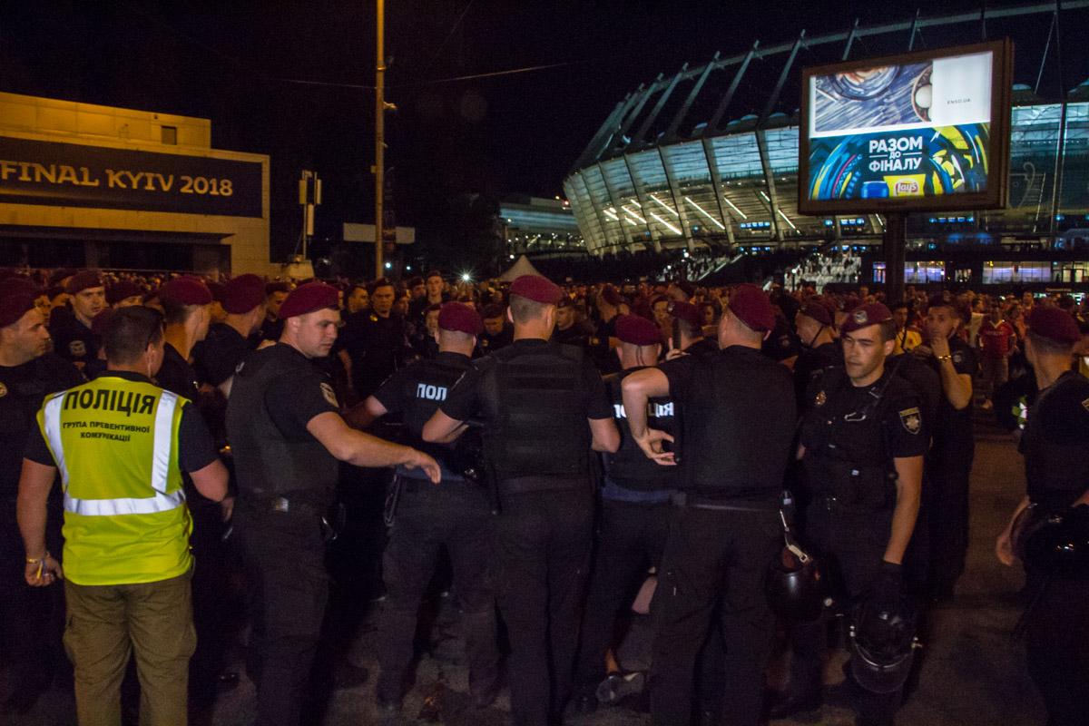 Полиция моментально среагировала на конфликт