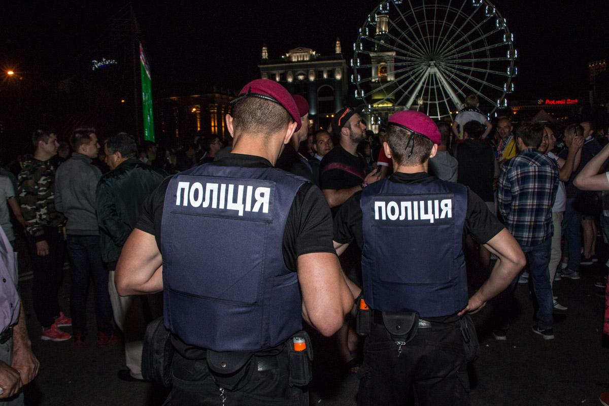 Полиция на страже порядка