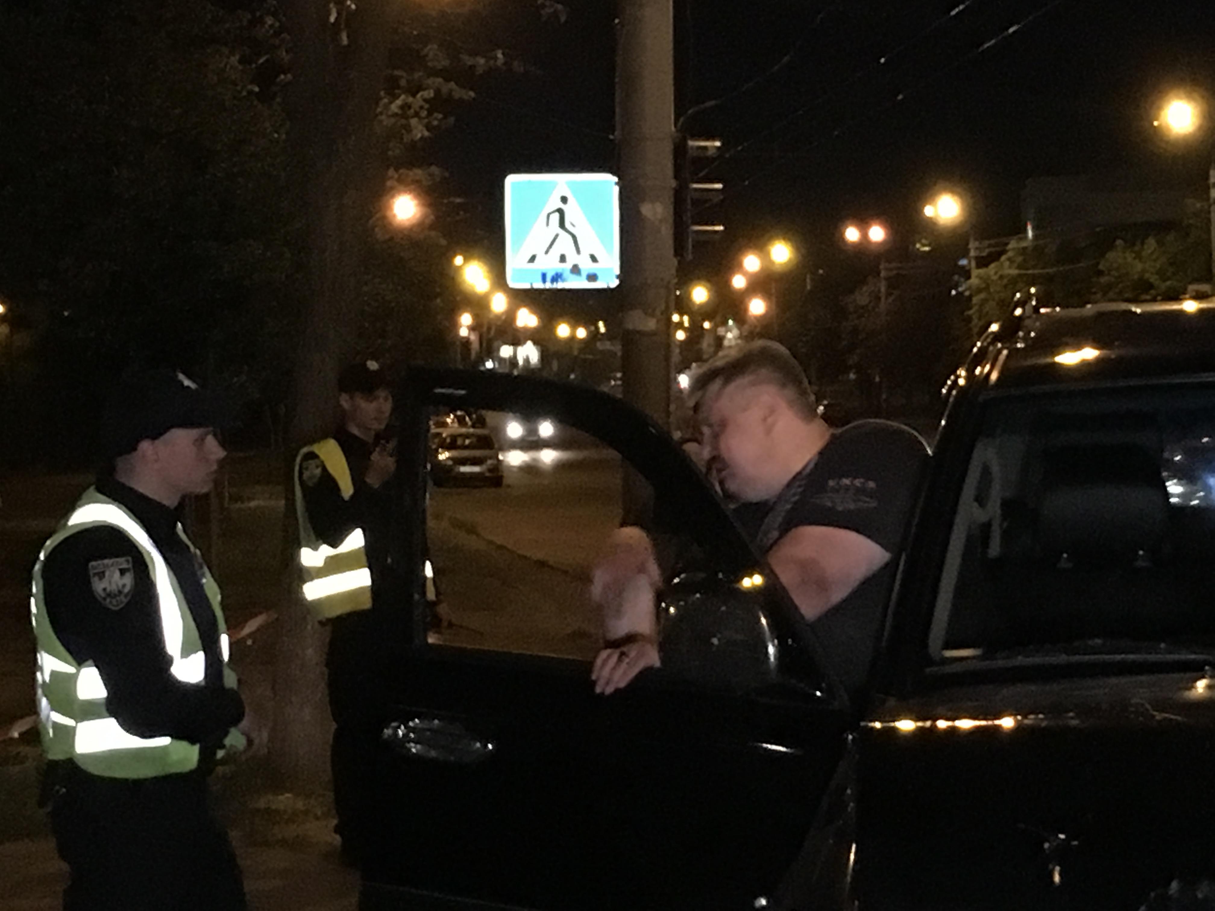 Автомобиль, который скрылся с ДТП задержали на проспекте Маяковского, 59