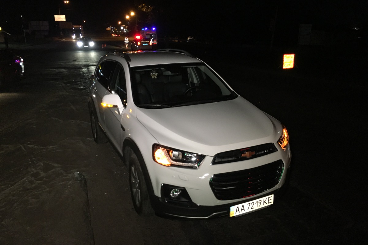 Chevrolet двигался со стороны Теремков по Кольцевой дороге