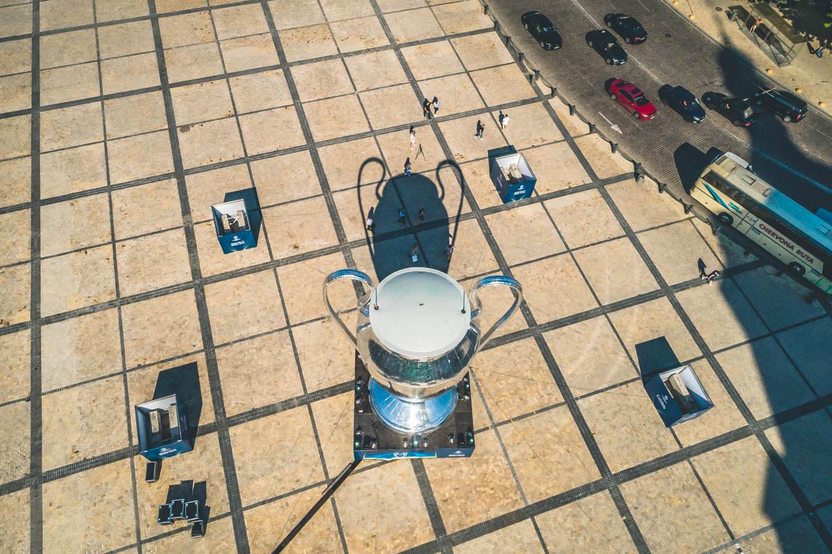 Кроме столицы этот величественный трофей посетит и другие города Украины