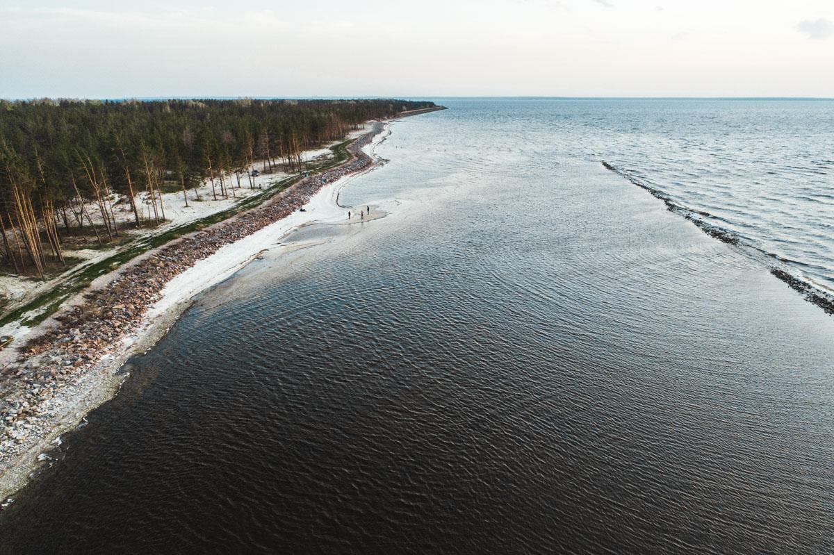 Киевское море наполняется в основном за счет Днепра