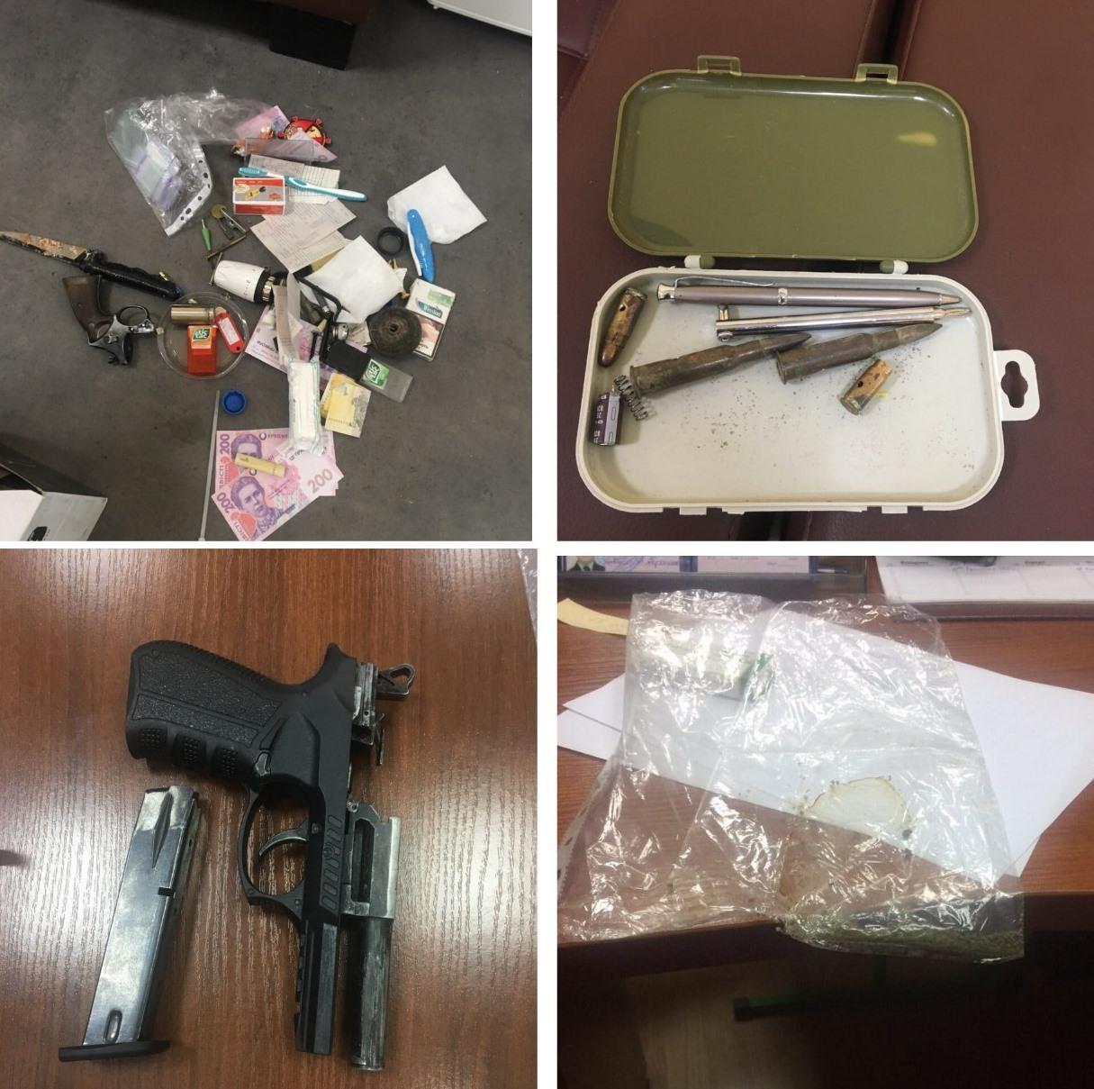 Замдиректора гимназии хранил на кабинете оружие и наркотики. Фото: источник Информатора
