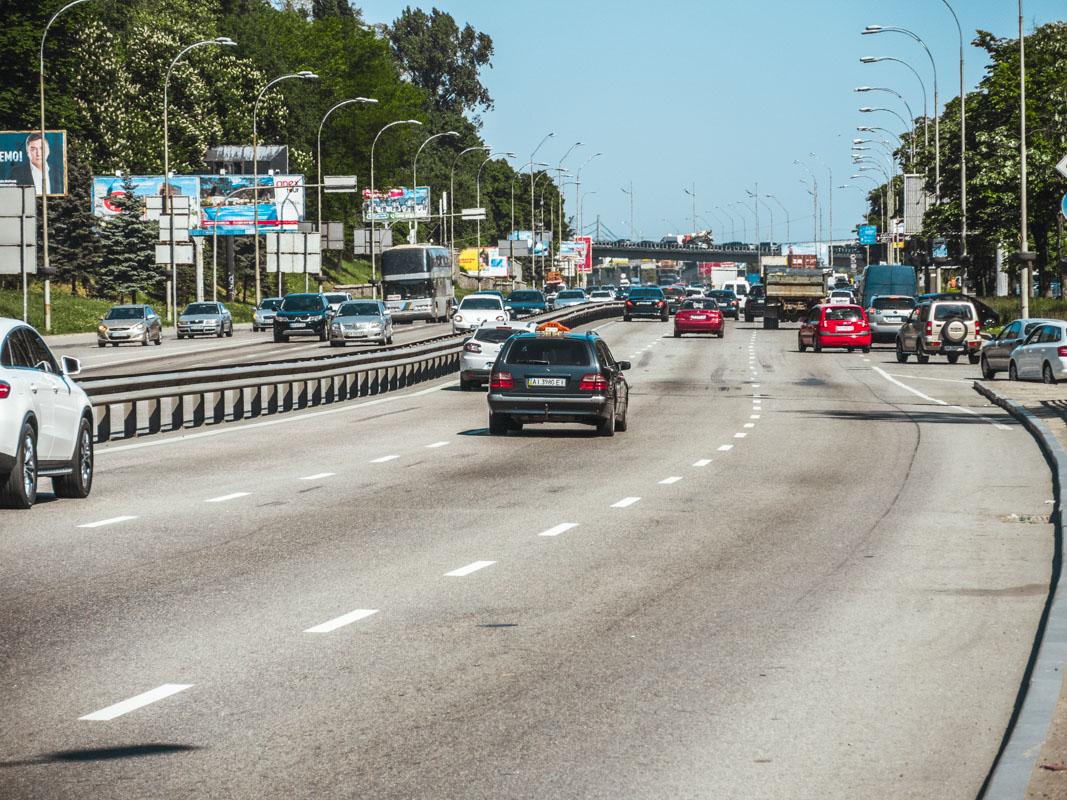 Ремонт шоссе обошелся городу в 1 078 170 гривен
