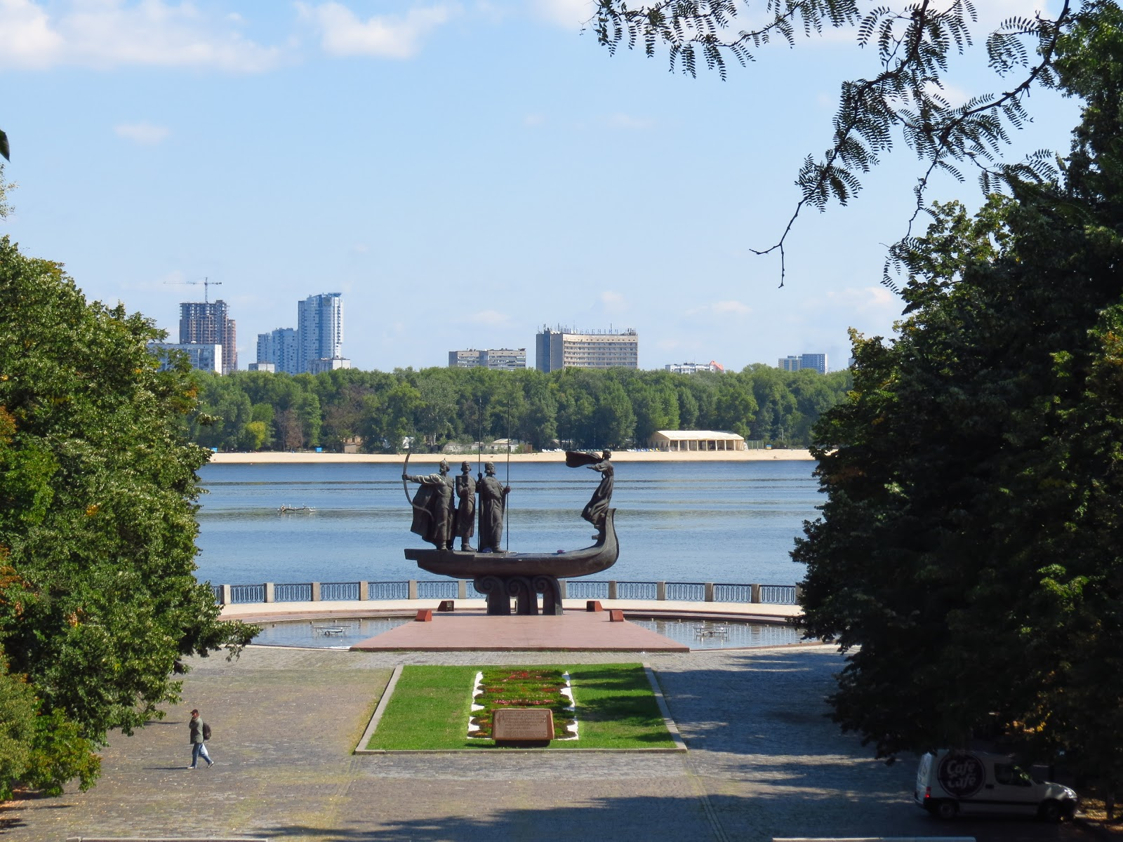 Наводницкий парк в Киеве