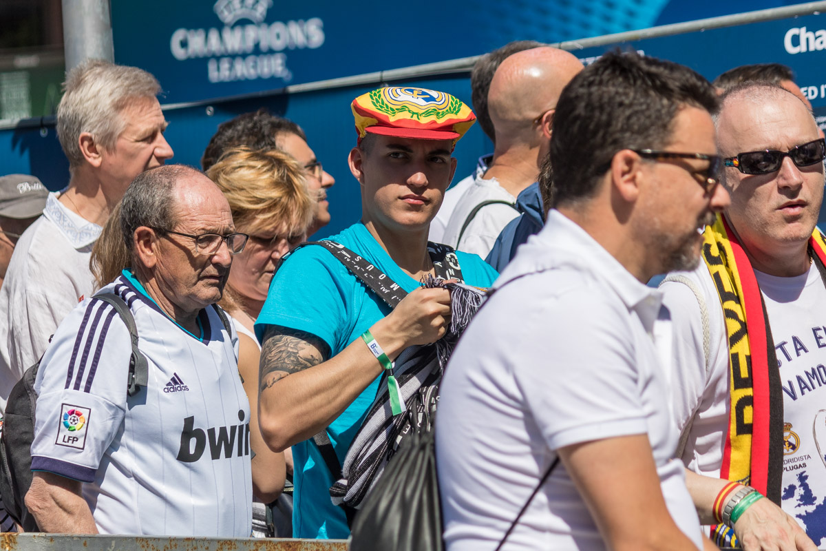 Киев заполнили болельщики Реала
