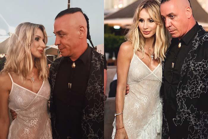 По информации СМИ, отцом второго ребенка является лидер группы Rammstein — Тилль Линдеманн