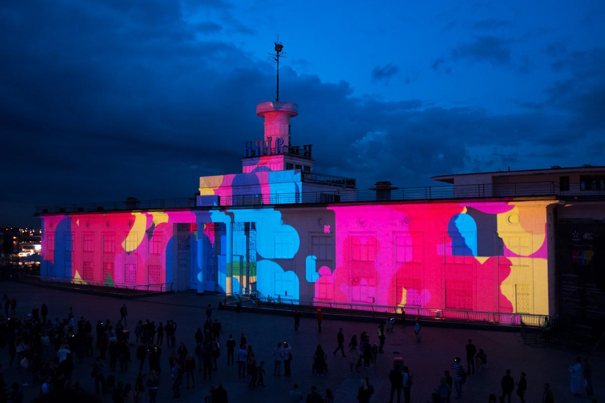 В столице начался Kyiv Lights Festival