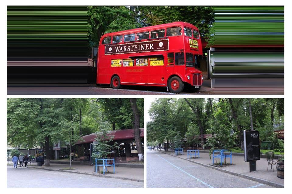 На улице Архитектора Городецкого больше нет двухэтажного автобуса