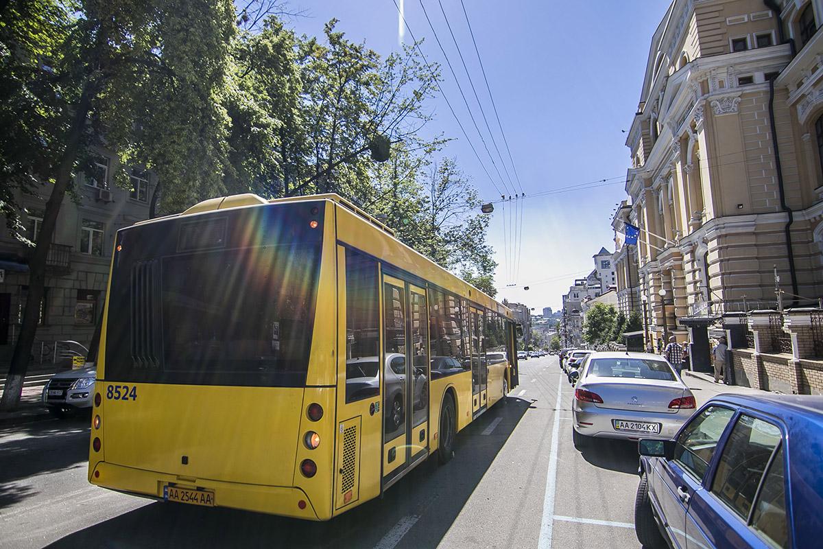 К счастью, никто из пассажиров автобуса не пострадал