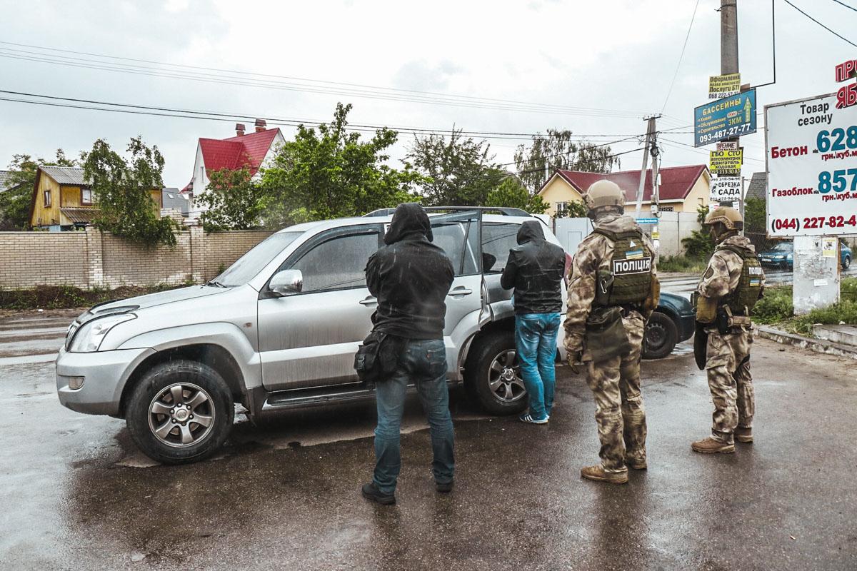 В Киеве в частном секторе полиция задержала грабителей