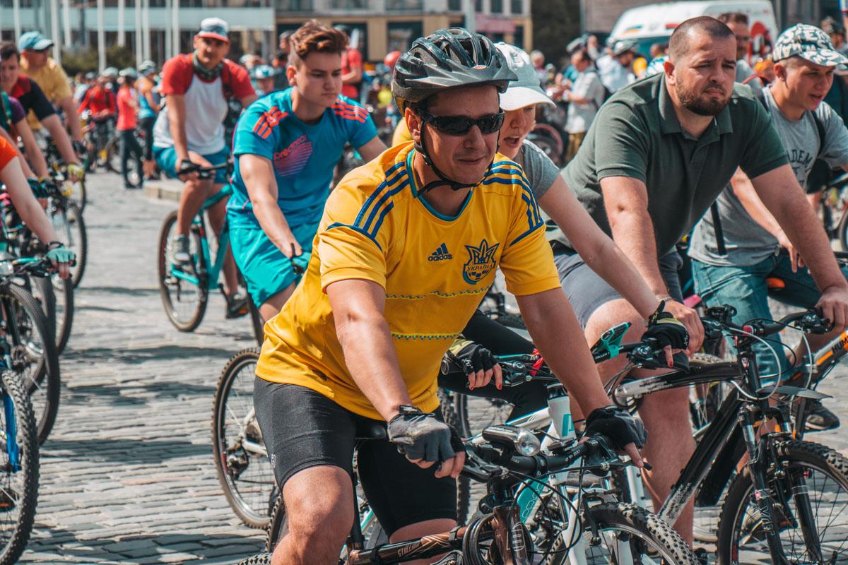 После заезда велосипедисты смогут отдохнуть