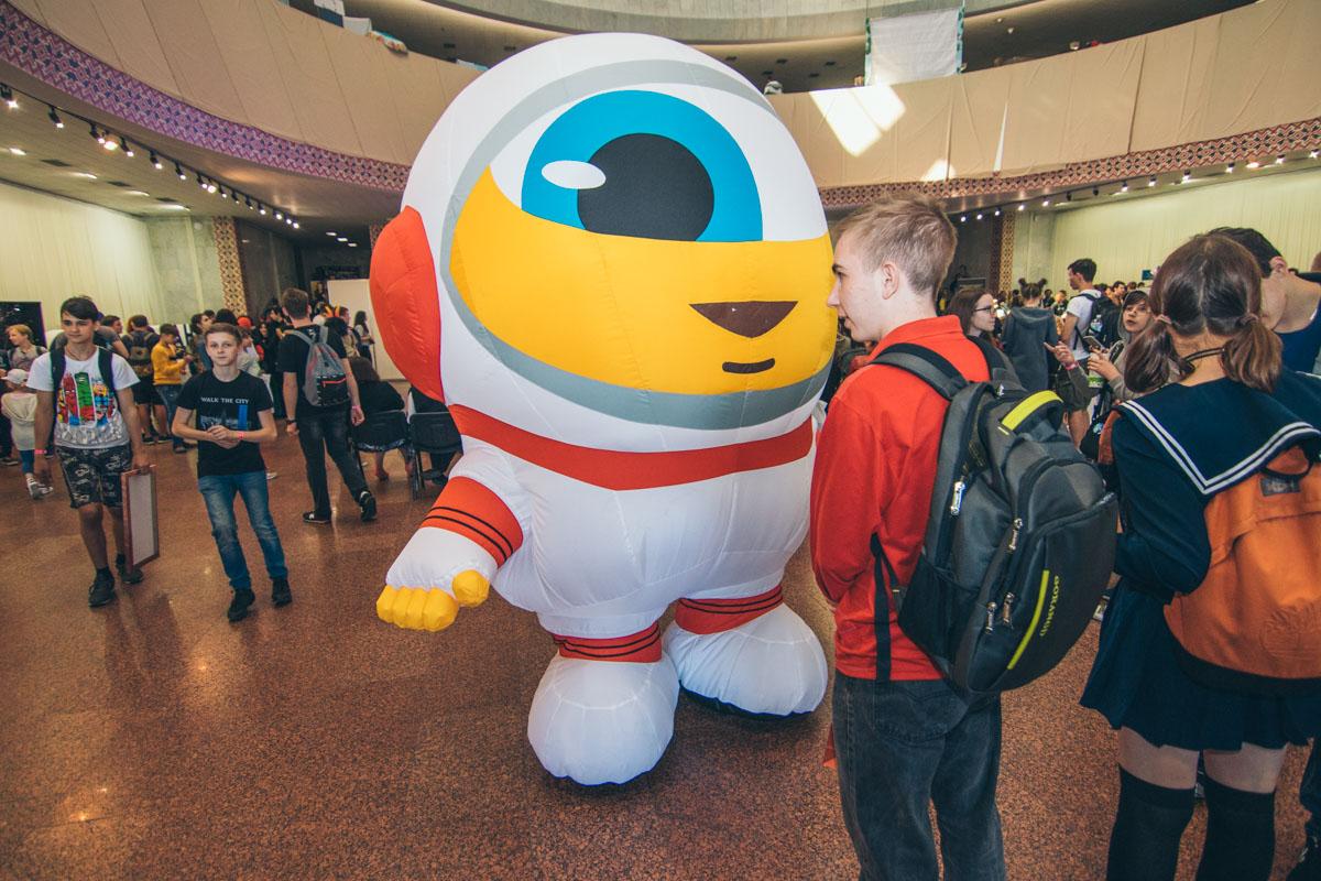 Яркие персонажи на Comic Con
