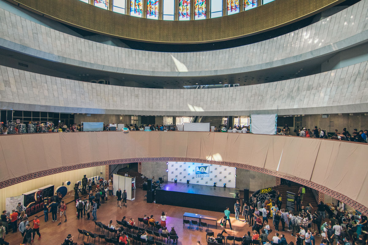 Kyiv Comic Con проходил в Украинском доме