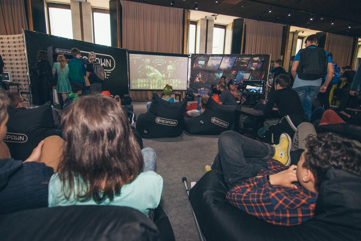 Для любителей видеоигр на фесте была организована отдельная зона