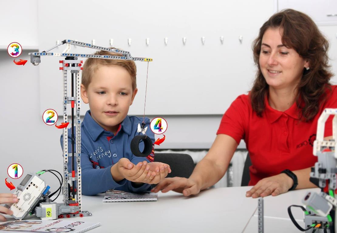 Мастер-класс по математике и конструированию для малышей 5-6 лет