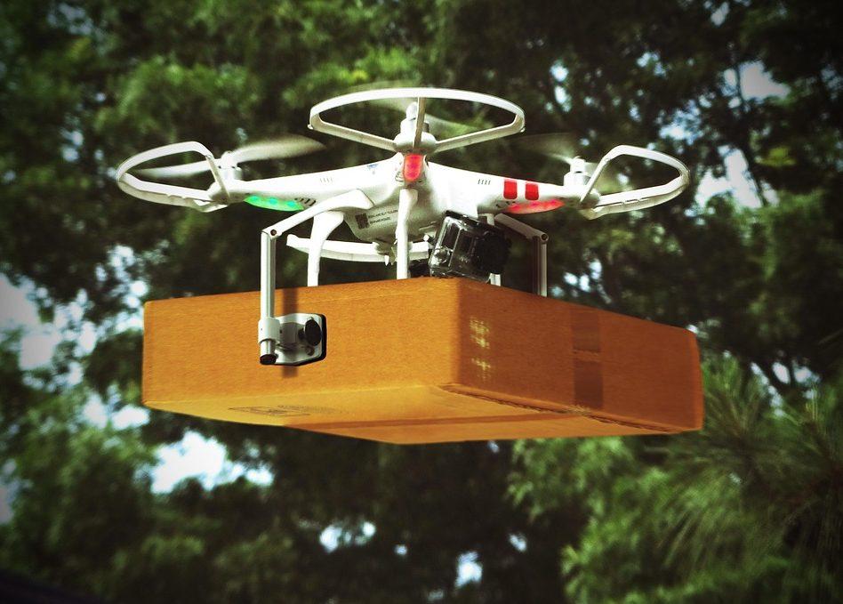Uber будет доставлять еду с помощью дронов