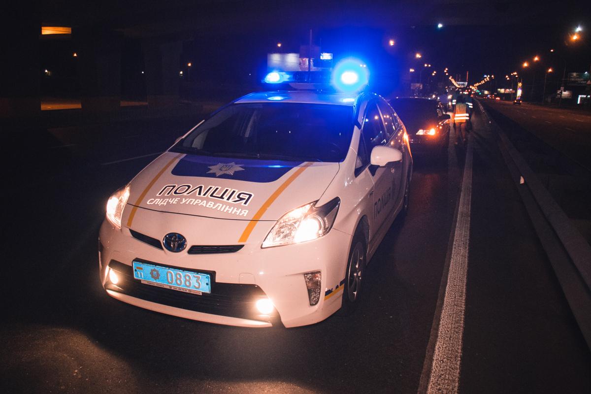 На Одесской площади Opel сбил нарушителя