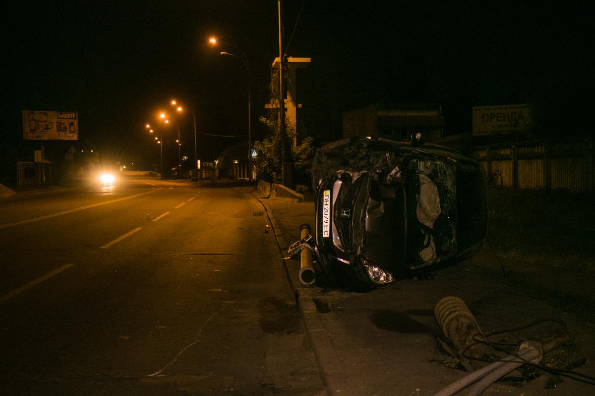4 мая на улице Электриков, 20 произошло ДТП