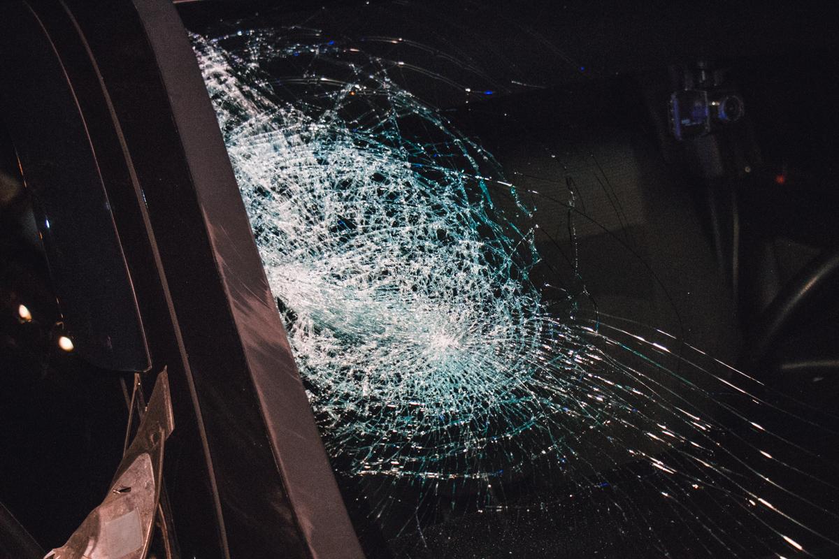 По словам водителя, у пострадавшего сотрясение