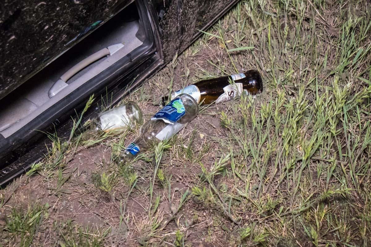 Молодые люди находились в состоянии алкогольного опьянения
