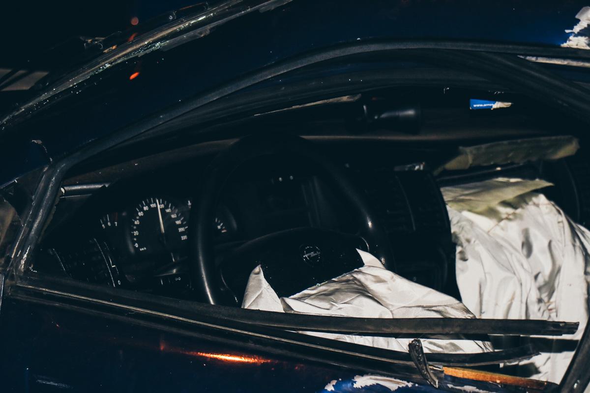 Водитель Opel сбежал с места ДТП